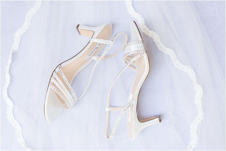 Virginia Ski Resort Wedding at Wintergreen as seen on Hill City Bride Wedding Blog by Ashley Eiban - shoes