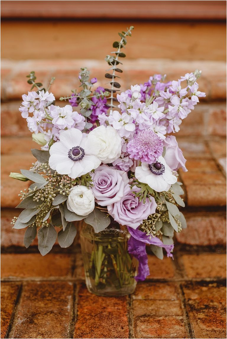 Vintage Heirloom DIY Wedding at the Aviary in Lynchburg Virginia Purple Lavender | Hill City Bride Wedding Blog Bridal Bouquet Flowers Fiftyflowers Fifty