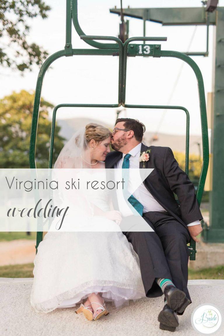 Virginia Ski Resort Wedding at Wintergreen as seen on Hill City Bride Wedding Blog by Ashley Eiban