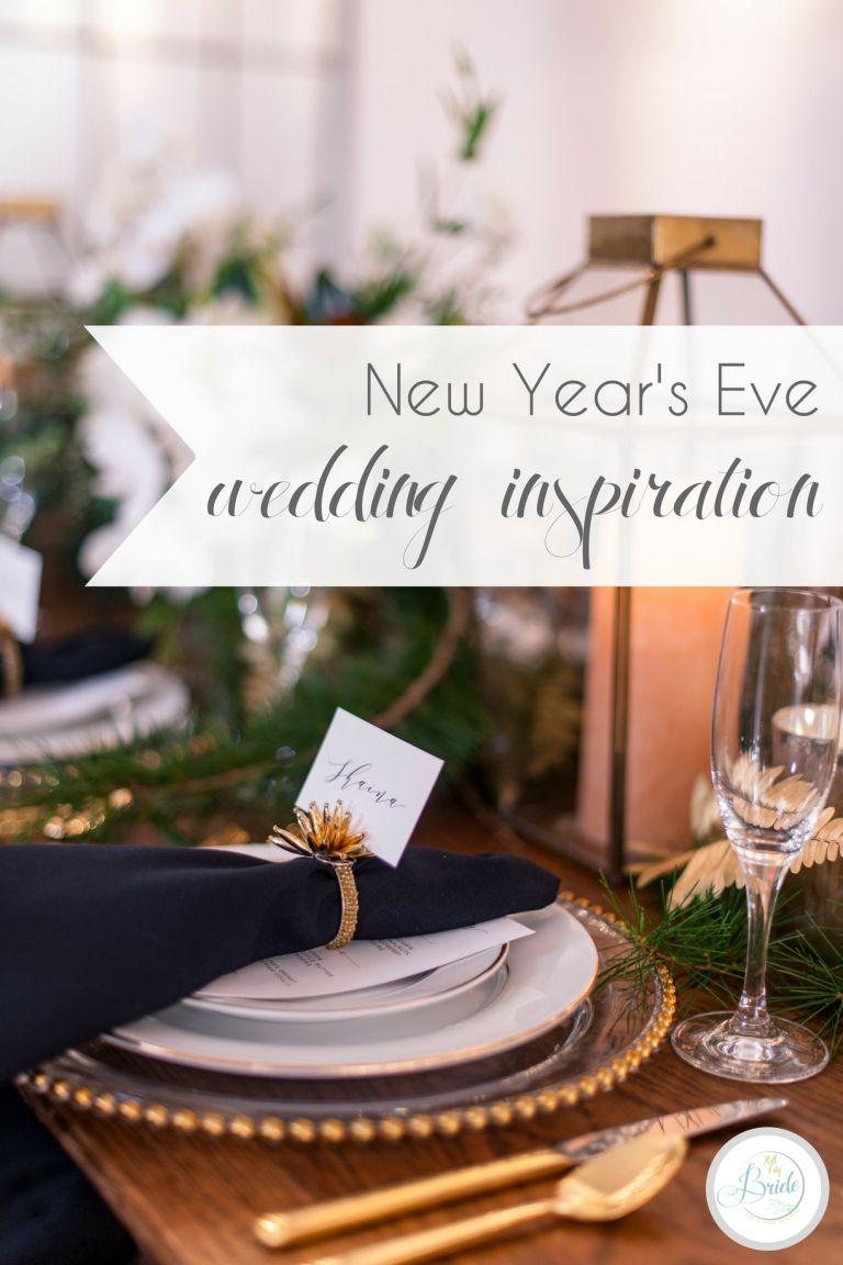 New Year's Eve Wedding Inspiration   Hill City Bride Virginia Wedding Blog