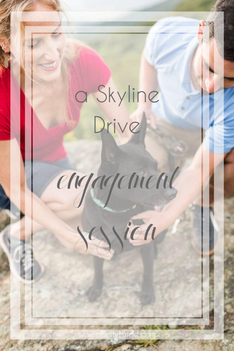 Skyline Drive Engagement Session at Shenandoah National Park   Hill City Bride Wedding Blog