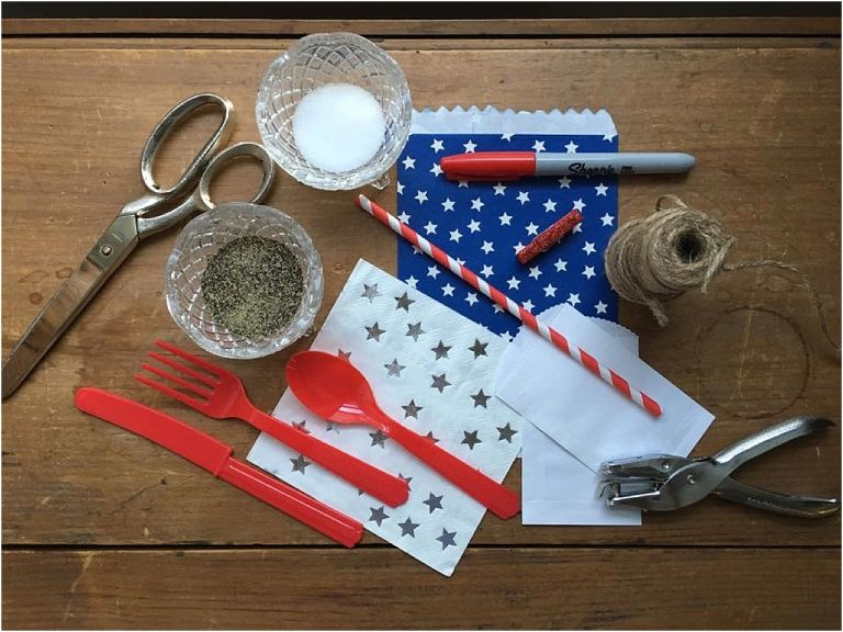 DIY Silverware Pouches as seen on Hill City Bride Lynchburg Virginia Wedding Blog and Magazine