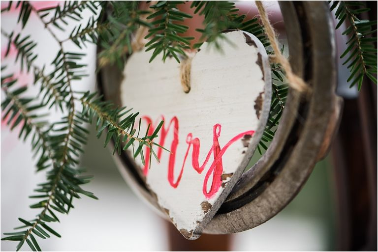 Horses and Hot Cocoa Winter Bridal Session as seen on Hill City Bride Virginia Wedding Blog - Mrs. Sign