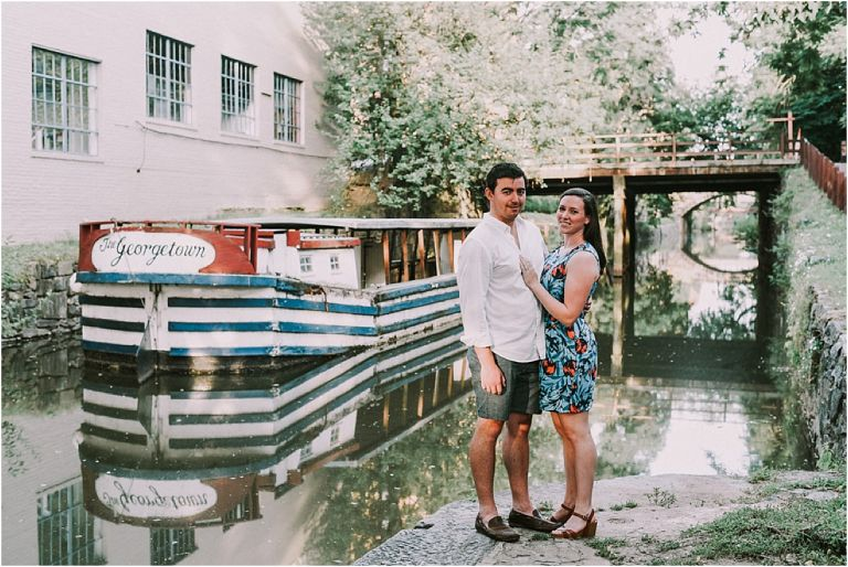 Washington DC Georgetown Lifestyle Engagement Session as seen on Hill City Bride Wedding Blog by Moreau and Company