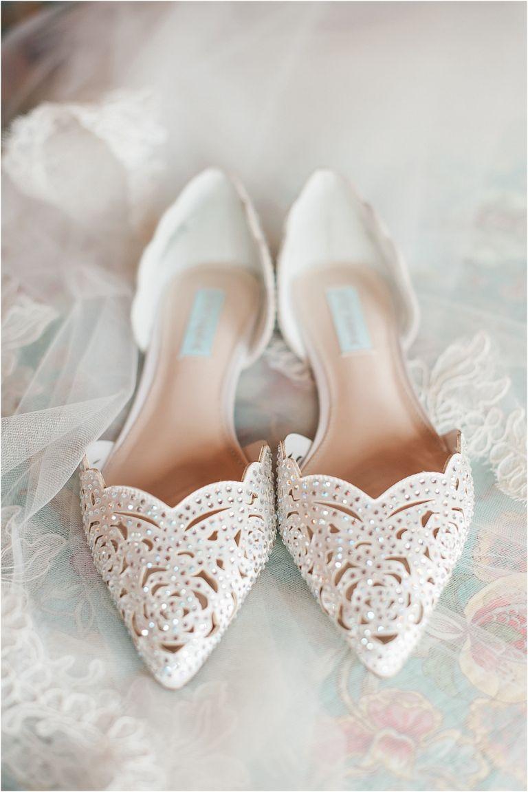 Virginia Barn Wedding as seen on Hill City Bride Wedding Blog - shoes
