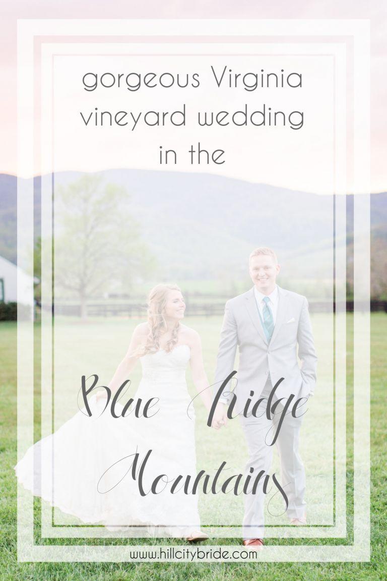 Virginia Vineyard Wedding at King Family Vineyards | Hill City Bride Virginia Weddings Blog King Family Vineyards