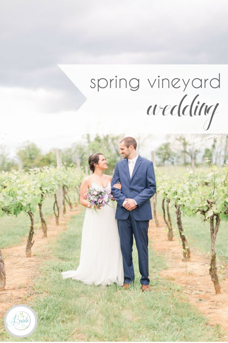 Spring Vineyard Wedding | Hill City Bride Virginia Weding Blog