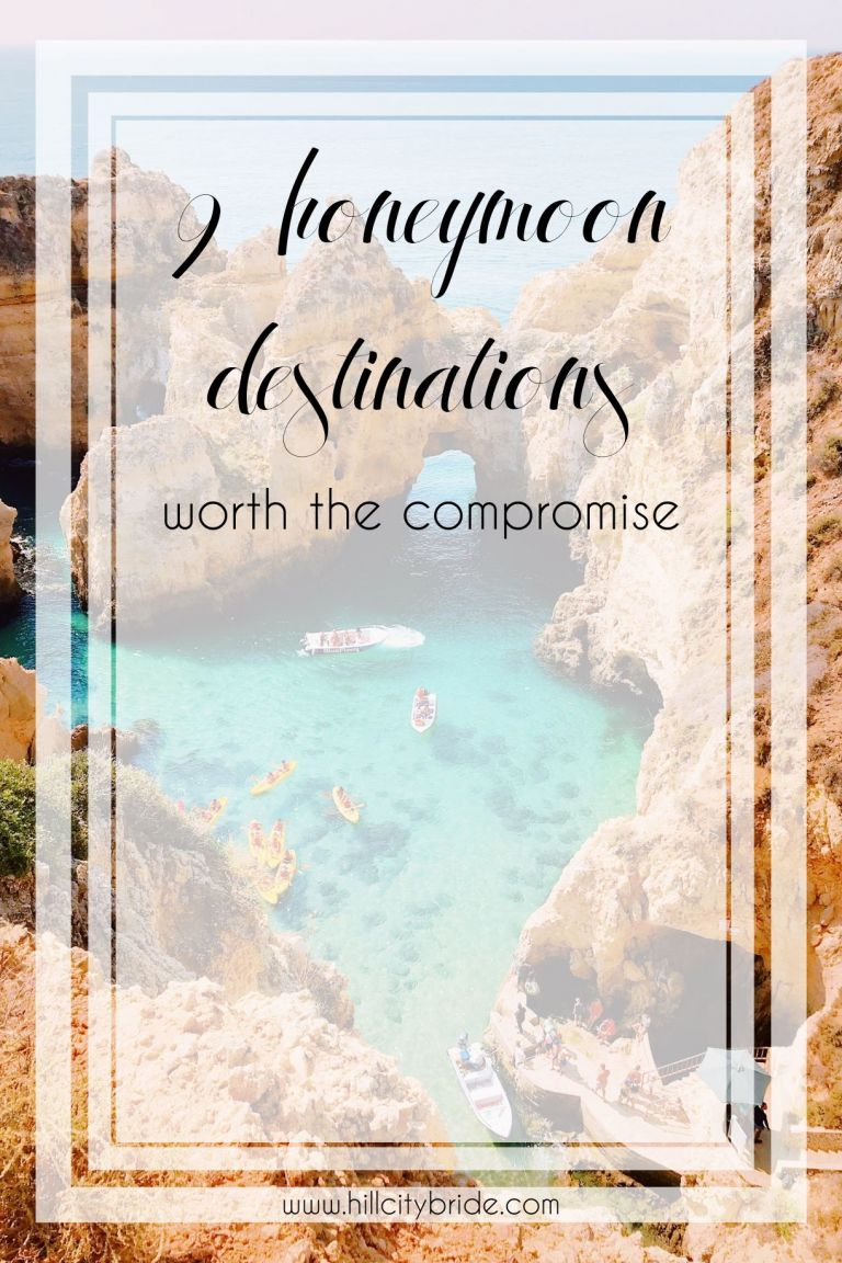 9 Honeymoon Destinations Worth the Compromise | Hill City Bride Wedding Travel Blog