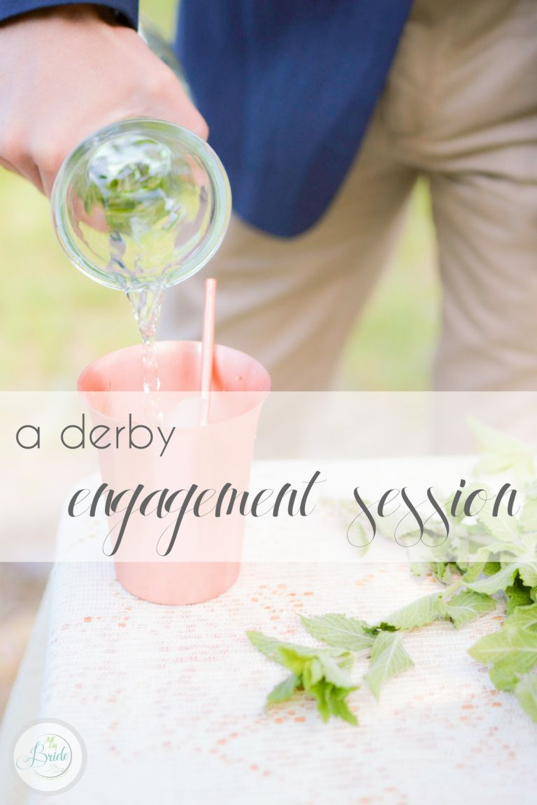 Derby E-session as seen on Hill City Bride Virginia Wedding Blog Styled Shoot - horse, hat, farm, engagement, ring