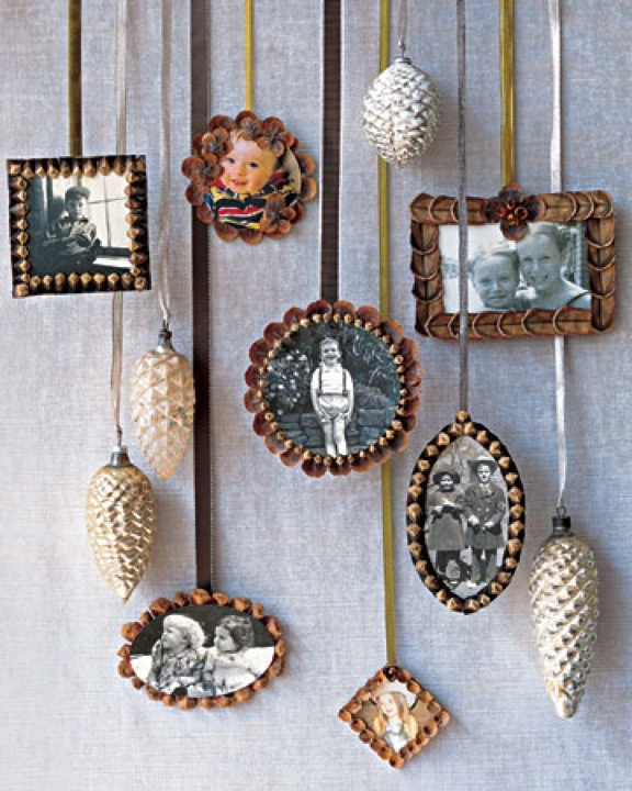 diy pinecone picture frames hill city bride virginia wedding blog