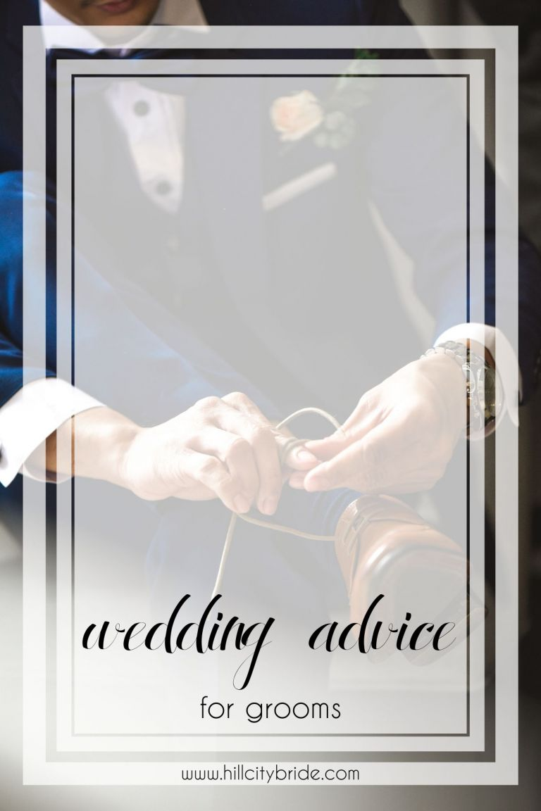 Wedding Advice for Grooms | What is the Grooms Responsible for in a Wedding | Hill City Bride Virginia Weddings