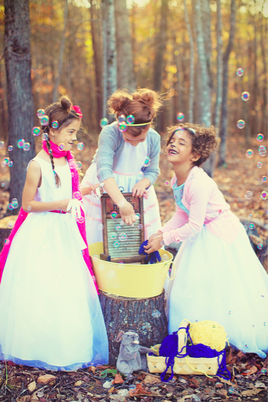 Three Little Kittens Editorial photographed by Crystal George Studios
