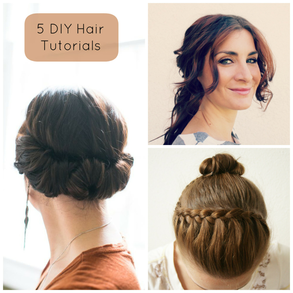DIY Hair – 5 Tutorials Hill City Bride