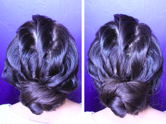 Rainy Day Bun Tutorial