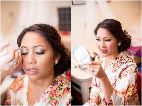 April B Photography Wedding Makeup