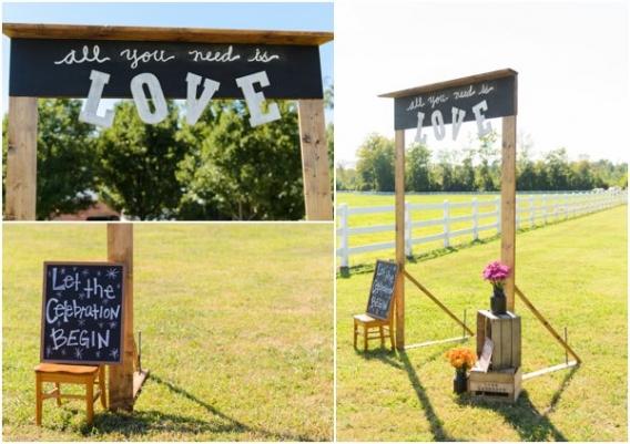 Elizabeth Henson - Hill City Bride - Wedding Signage