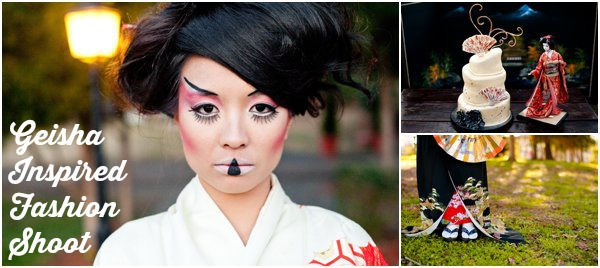 Geisha Inspired Fashion Shoot