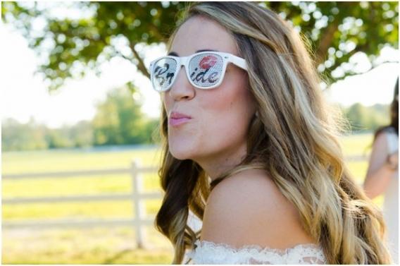 Hill City Bride - Elizabeth Henson - Bride with Glasses