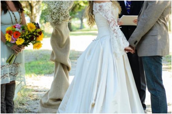 Hill City Bride - Elizabeth Henson - Outdoor Ceremony