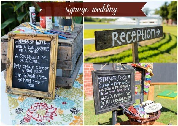 Signage Wedding