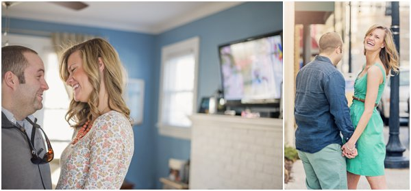 Home Engagement - Adam Mullins Photography - Hill City Bride