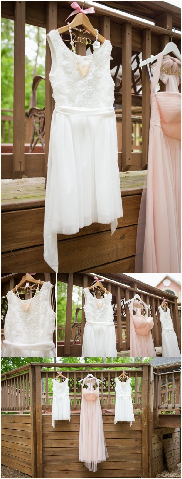 Bridesmaids Dresses by Anna Clark as seen on Hill City Bride