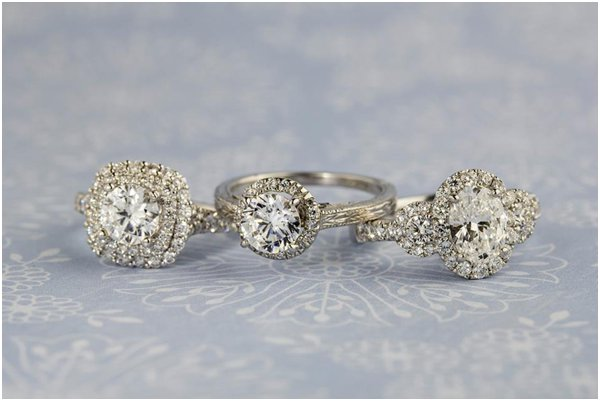 Diamond Rings | Bowen Jewelry Company | Michelline Hall | as seen on Hill City Bride