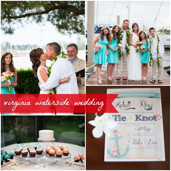 Virginia Waterside Wedding by Laura Matthews Photography as seen on Hill City Bride