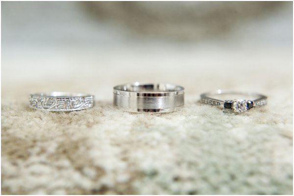 Rings by Evan Hampton Photography as seen on Hill City Bride