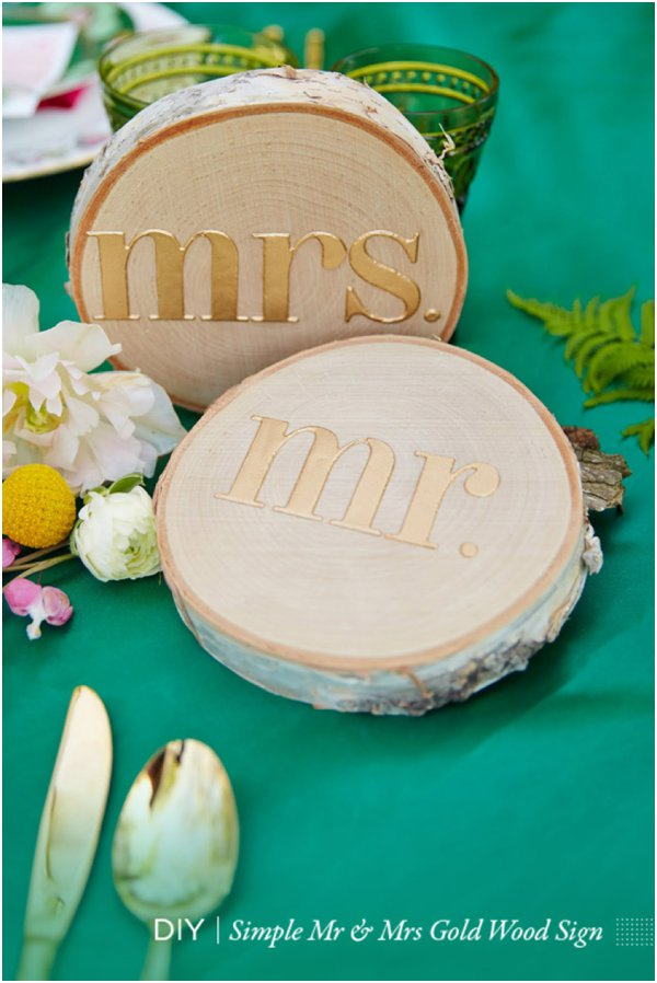 Finished Mr. Mrs. Signs by Chykalophia as seen on Hill City Bride