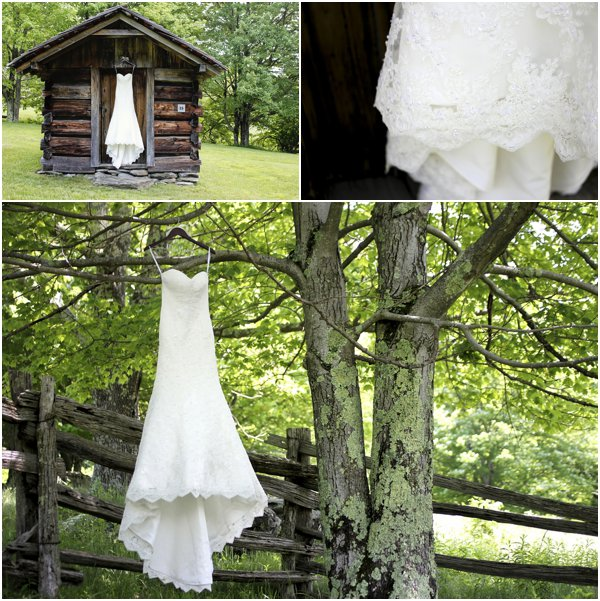 Wedding Gown by Holly Cromer as seen on Hill City Bride