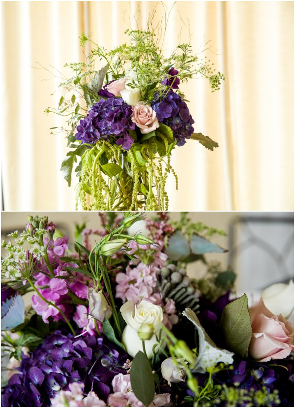 Wedding Flowers by Photography by TSM as seen on Hill City Bride