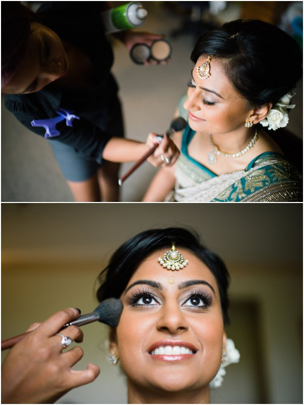 Bridal Makeup by Gold Hat Photography as seen on Hill City Bride