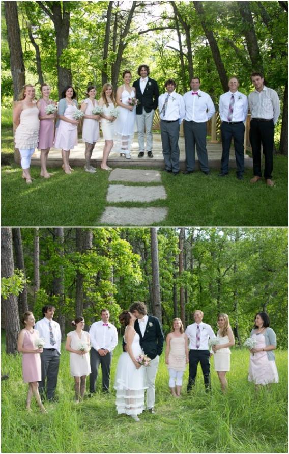 Attendants by Cadey Reisner Weddings as seen on Hill City Bride