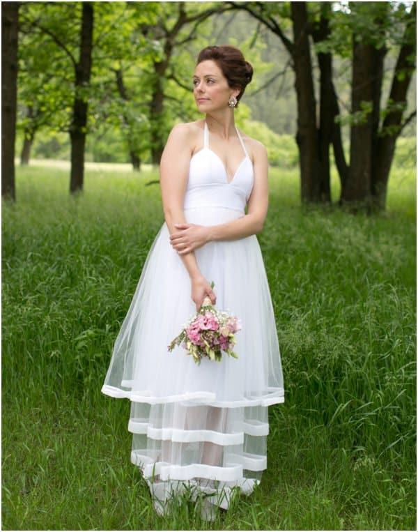 Bridal Portrait by Cadey Reisner Weddings as seen on Hill City Bride