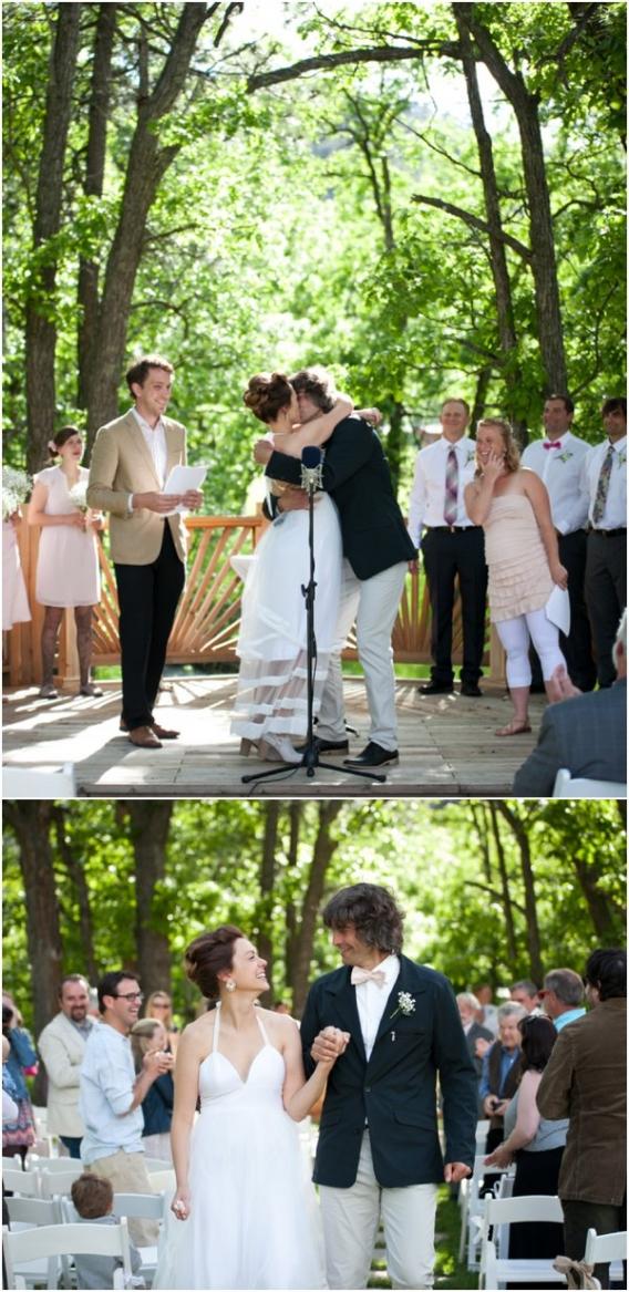 Cadey Reisner Weddings as seen on Hill City Bride - Wedding Ceremony