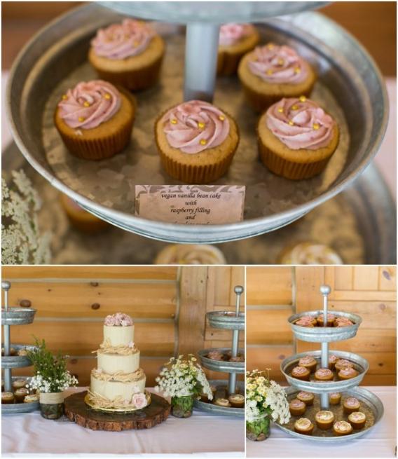 Cupcakes by Cadey Reisner Weddings as seen on Hill City Bride
