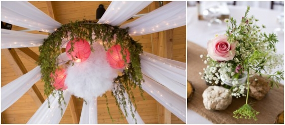 Draping by Cadey Reisner Weddings as seen on Hill City Bride