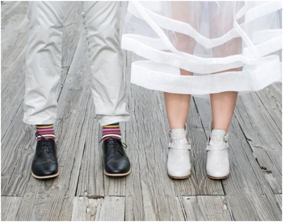 Feet by Cadey Reisner Weddings as seen on Hill City Bride