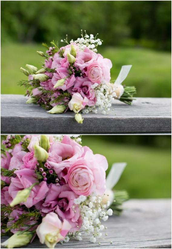 Flowers by Cadey Reisner Weddings as seen on Hill City Bride