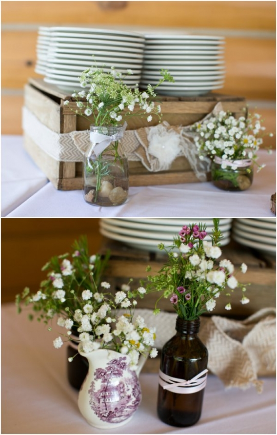 Wedding Plates by Cadey Reisner Weddings as seen on Hill City Bride