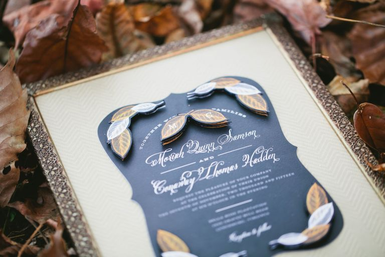 What to Do with Unused Wedding Invitations | Turn Wedding Invitation Into Gift