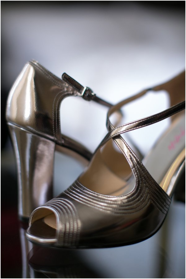 Wedding Shoes by Dana Tate as seen on Hill City Bride
