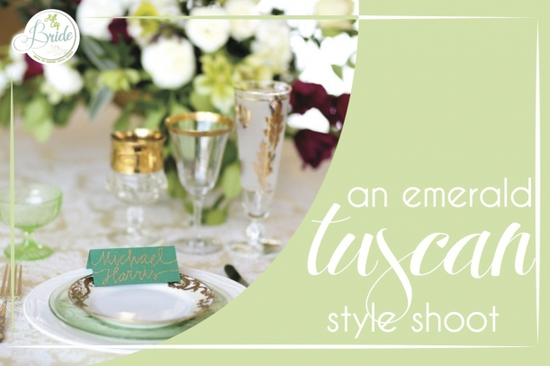 Emerald Tuscan Style Shoot