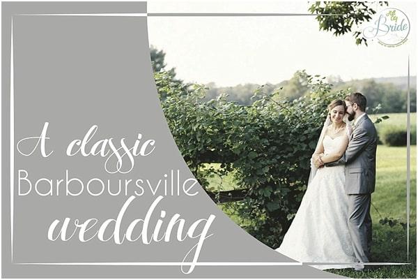 Classic Barboursville Wedding