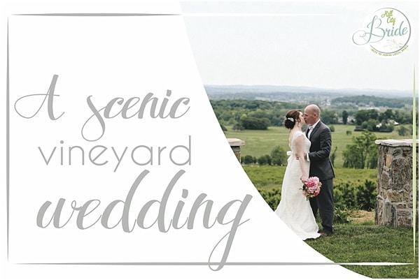 Scenic Vineyard Wedding
