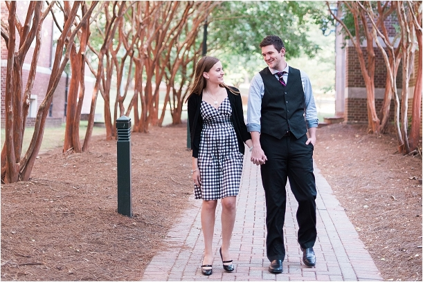 University of Richmond Engagement as seen on Hill City Bride 1