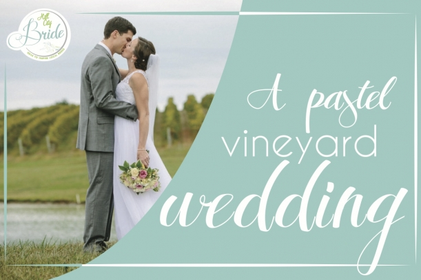 Virginia Vineyard Wedding as seen on Hill City Bride
