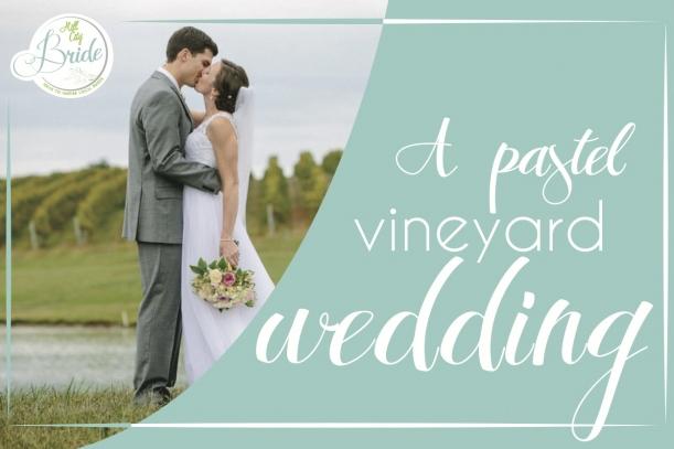 Virginia Vineyard Wedding as seen on Hill City Bride