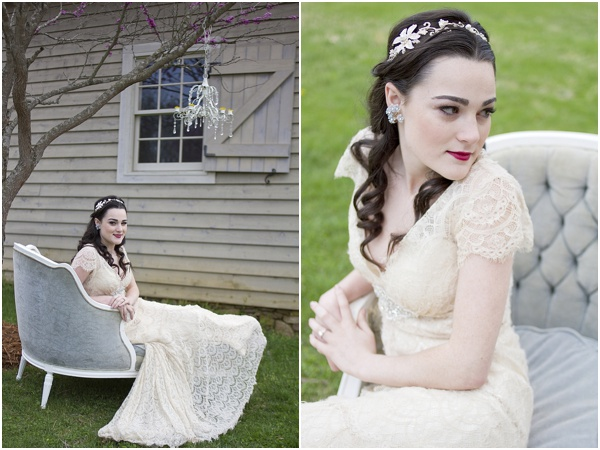 Style Shoot by Holly Cromer as seen on Hill City Bride 2